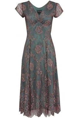 Kirsten dress in Giselle lace #PrettyEccentric #Bride #Bridesmaid #Wedding #Vintage #Lace