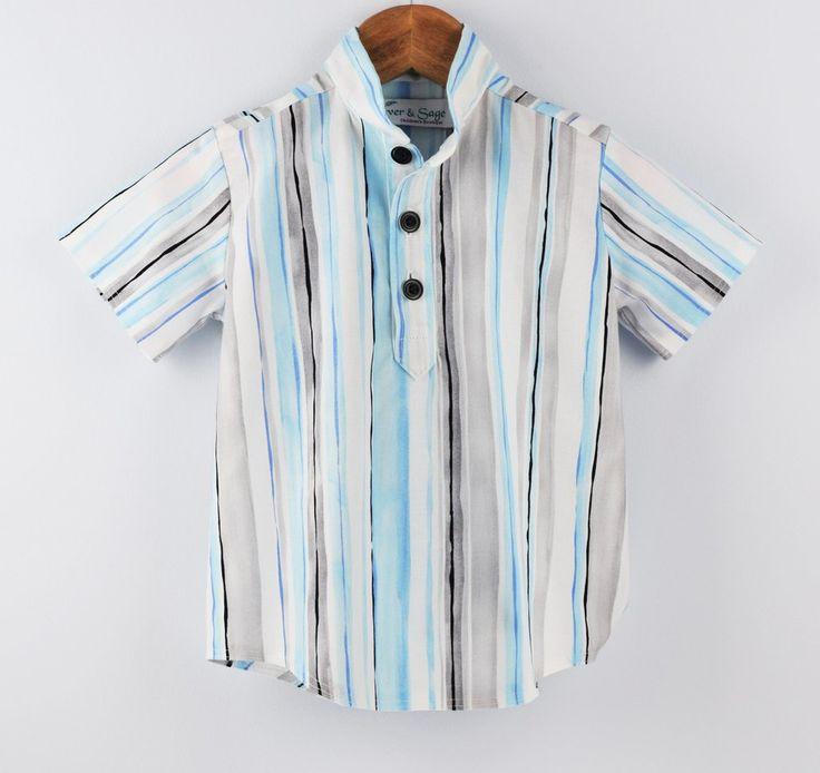 Cedar shirt Blue stripe