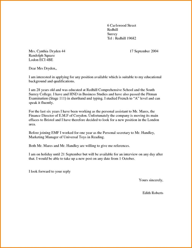 Cover Letter For Any Available Position Choice Image   Cover Letter Sample