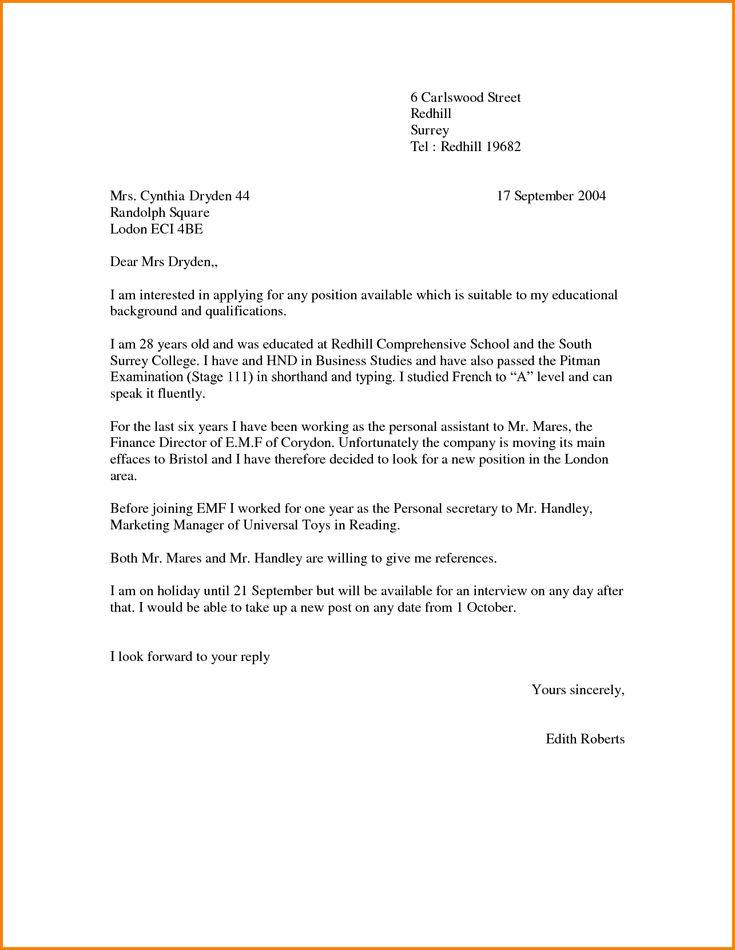 Best 25 Cover letter teacher ideas on Pinterest  Teacher cover letter example Teacher
