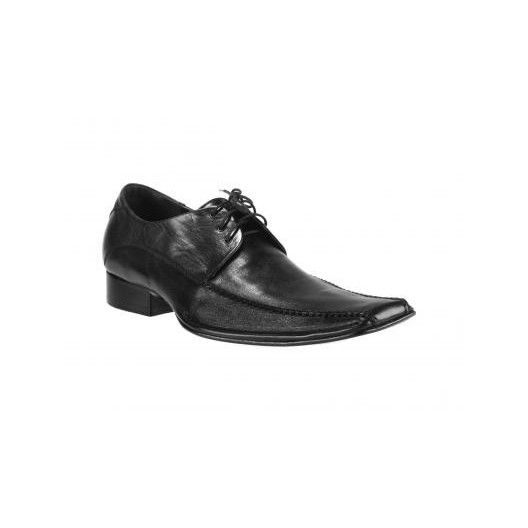Moderné pánske kožené šnurovacie topánky Svadobná obuv pre pánov - fashionday.eu
