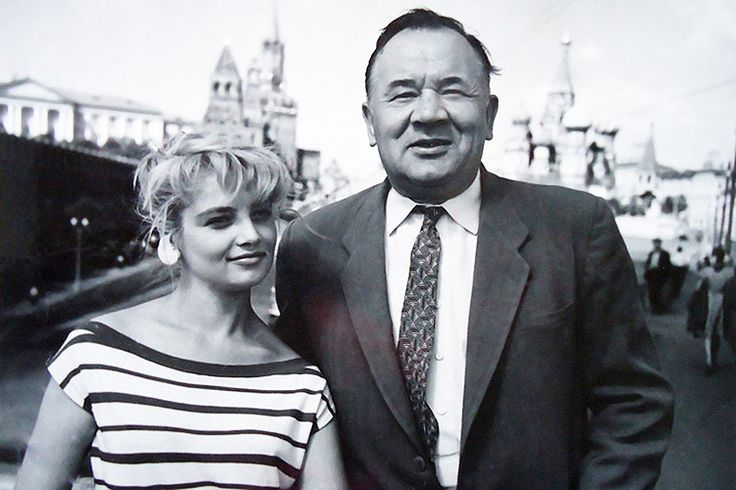 Наталья Кустинская и Борис Андреев