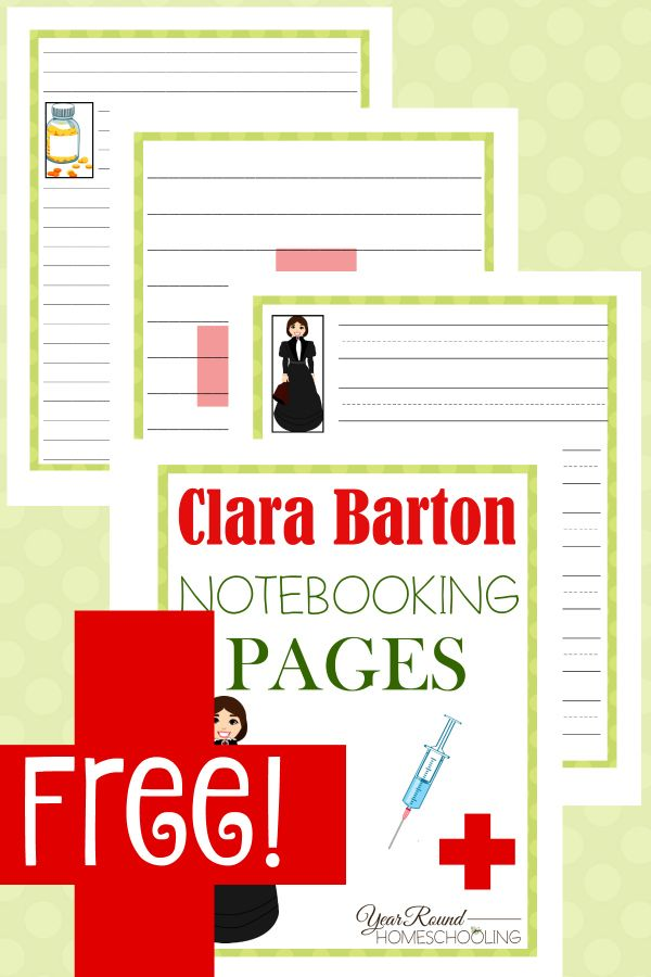 clara barton coloring pages free - photo#34
