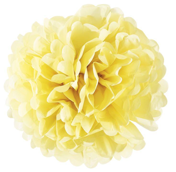 Süß, süßer, Miss Étoile! Die Papierblume POMPOM ist die perfekte Dekoration für das nächste Fest. In Limonenfarbe passt dieses Accessoire wunderbar zur ersten Gartenparty des Jahres, zum Osterbrunch oder zur nächsten Hochzeit. Doch auch ohne festlichen Anlass zaubert die aufgefächerte Blume aus Papier einen mädchenhaften und lieblichen Charme in die Wohnung und auf die Terrasse! Ein echtes Lieblingsstück.