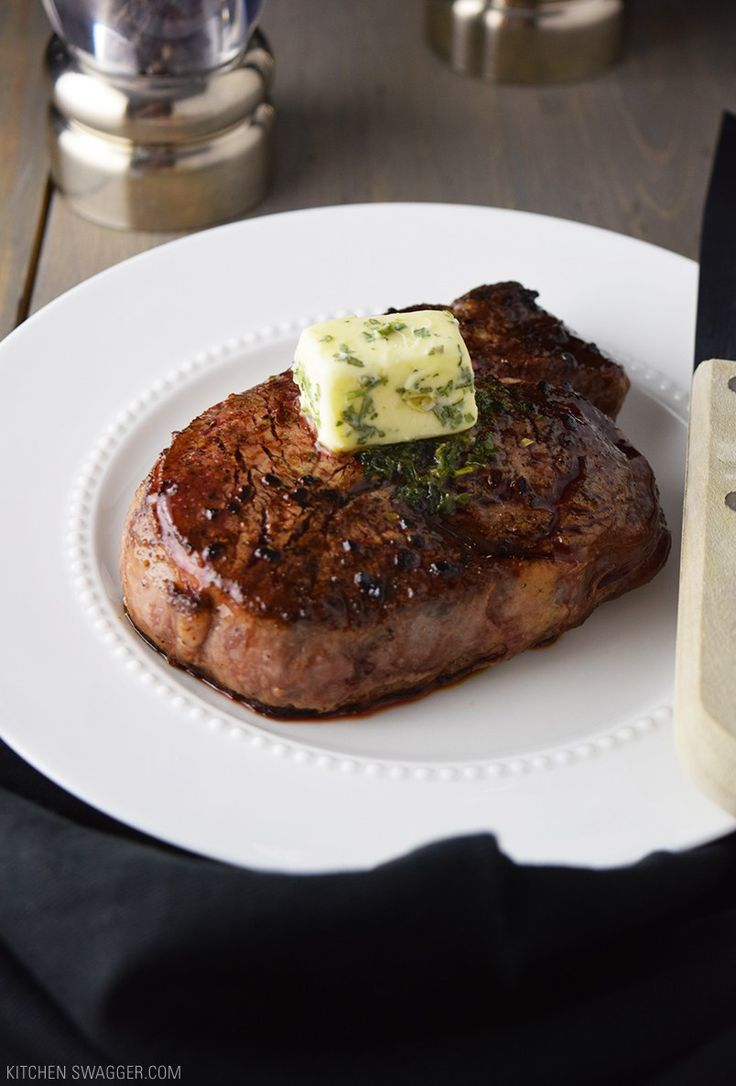 Pan-Seared Filet Mignon with Garlic & Herb Butter Recipe - Best ever!