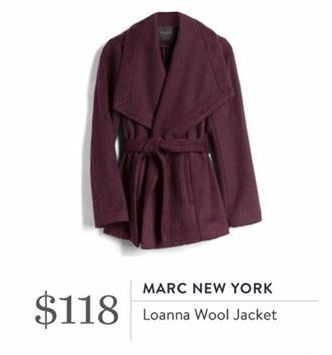 I love the color of this jacket it would be perfect for fall! Marc New York Loanna Jacket