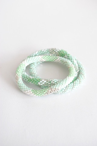 Lily and Laura bracelets are all the rage right now, and all the proceeds go to a good cause!