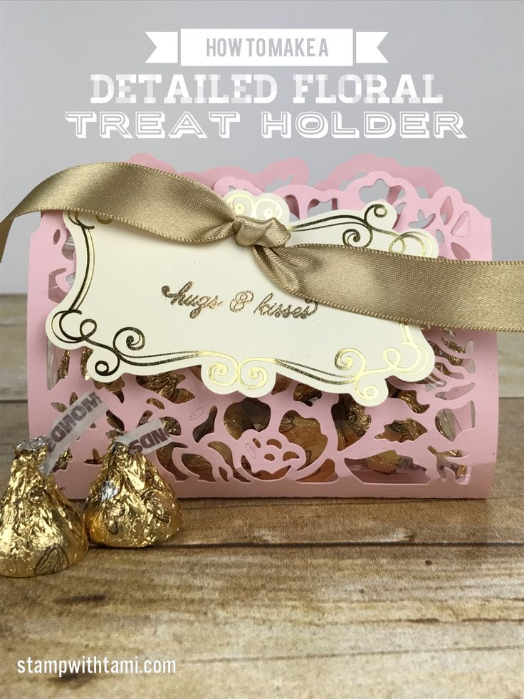 VIDEO: How to make a Detailed Floral Treat Holder for Valentine's Day | Stampin Up Demonstrator - Tami White - Stamp With Tami Crafting and Card-Making Stampin Up blog