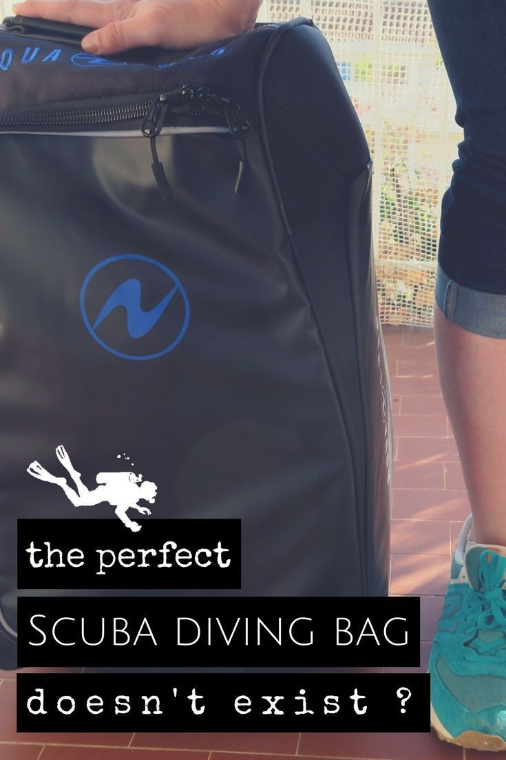 The perfect scuba diving bag doesn't exist? Here is my take on it. What is the perfect scuba diving bag? Review of 5 bags used in 8 years of scuba diving trips on my quest to find the perfect scuba diving bag. What's your favorite? - World Adventure Divers - #scubadivingtrip