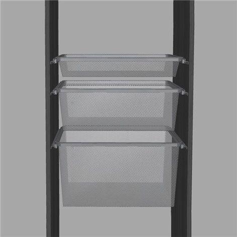 Backpaket Lumi Bas 60 Extra Djup Låda - Trådbackar - Garderober & Förvaring