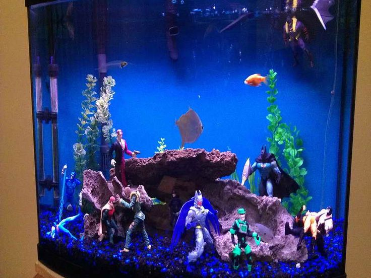 Cool Superhero Aquarium