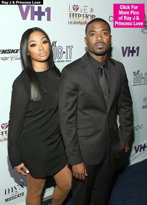 Ray J's girlfriend, Princess Love Arrested for allegedly beating him.