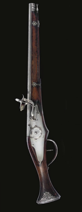 A BRESCIAN WHEEL-LOCK HOLSTER PISTOL   CIRCA 1630...to bad it is after our period....but so spiffy