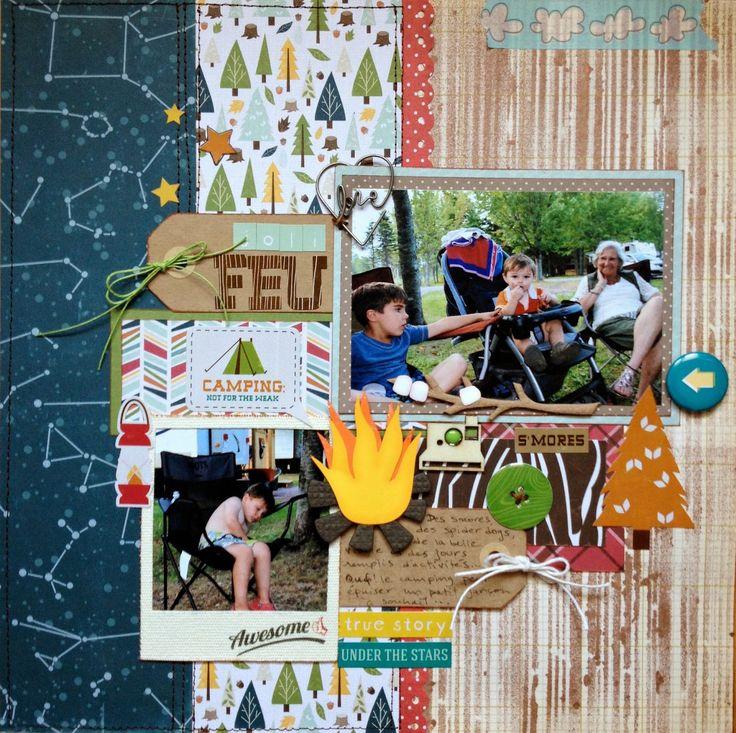 Joli+feu-+Pretty+Fire - Echo Park - Happy Camper Collection