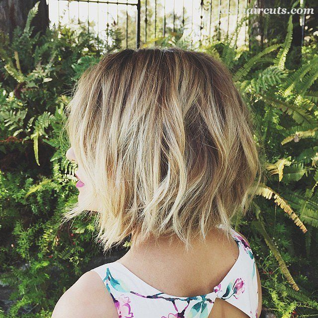 20 Chic Bob Hairstyles for Fine Hair #BobHaircuts
