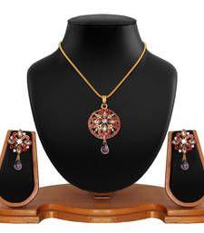 Buy pink Diamond pendants Pendant online