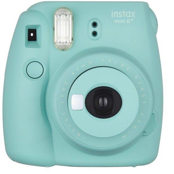 Fujifilm Instax Mini 8+ (Mint) Instant Film Camera Self Shot Mirror... ($67) ❤ liked on Polyvore featuring filler