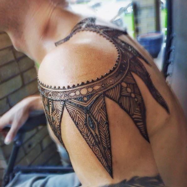 1000 Ideas About Henna Sleeve On Pinterest Henna Arm