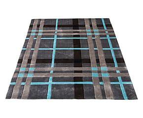 Tappeto Weave grigio e blu - 160x220 cm