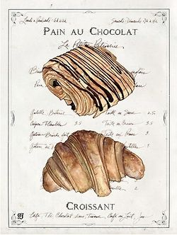 pain au chocolat // croissant | french bread & viennoiseries ! | Pint ...