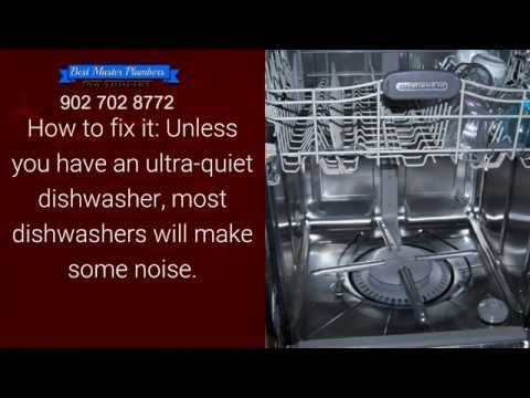 3 Common Dishwasher Plumbing Problems and Solutions | Halifax NS | 902 702 8772 - YouTube