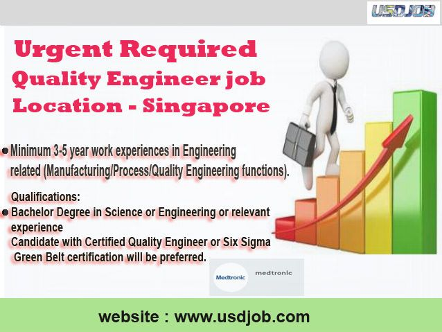 Quality Engineer Jobs Singapore | Jobs in Singapore | Best