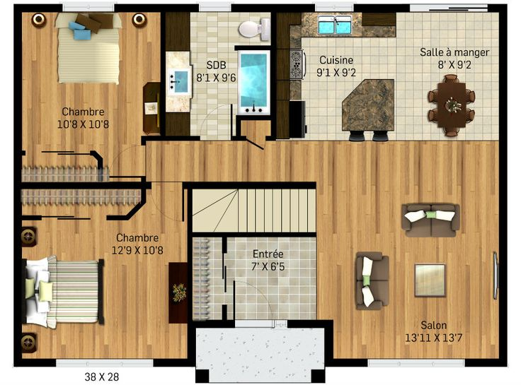 33 best Plan maisons images on Pinterest Homes, Garage plans and