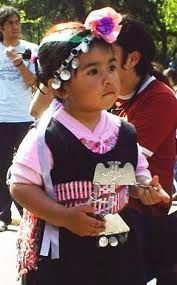 mujer mapuche vestimenta - Google Search