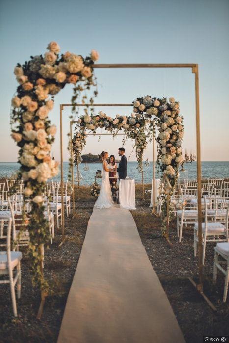 Matrimonio Spiaggia Decorazioni : Proposte di tendenza per decorare una location in spiaggia