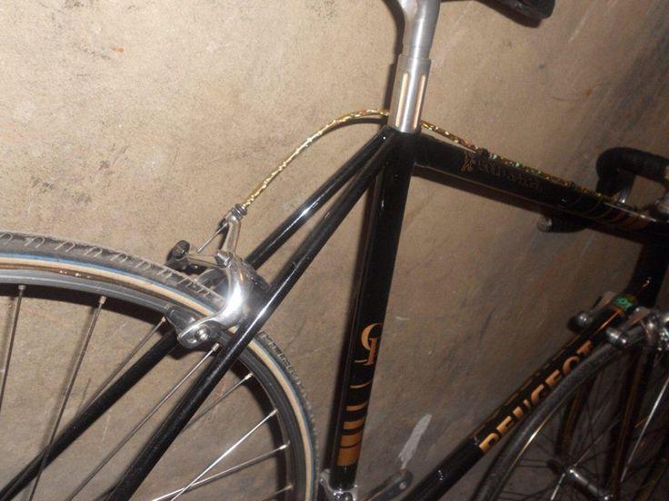 PEUGEOT Gold-SP  #Peugeot #Vintage #Velo #Bicycle #TourdeFrance #Paris #France #プジョー #自転車 #ツールドフランス #ヴィンテージ #FRUNNO