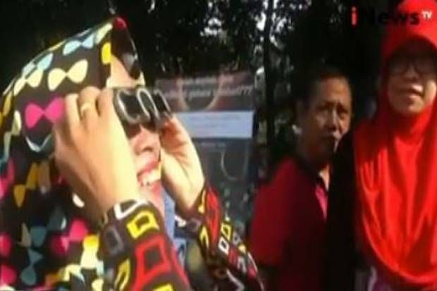 Gerhana Matahari Ponpes Assalam Solo Siapkan Live Streaming