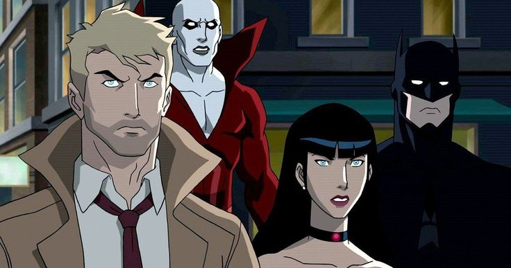 Justice League Dark Trailer Teams Batman with Constantine & Swamp Thing -- Warner Bros. has released a first look at the new R-Rated DC Animated Movie Justice League Dark along with a full cast list. -- http://movieweb.com/justice-league-dark-trailer-dc-animated-movie/