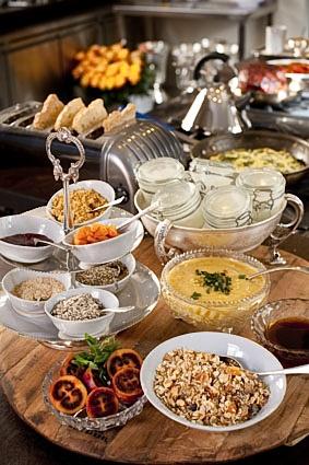 Sirai House breakfast