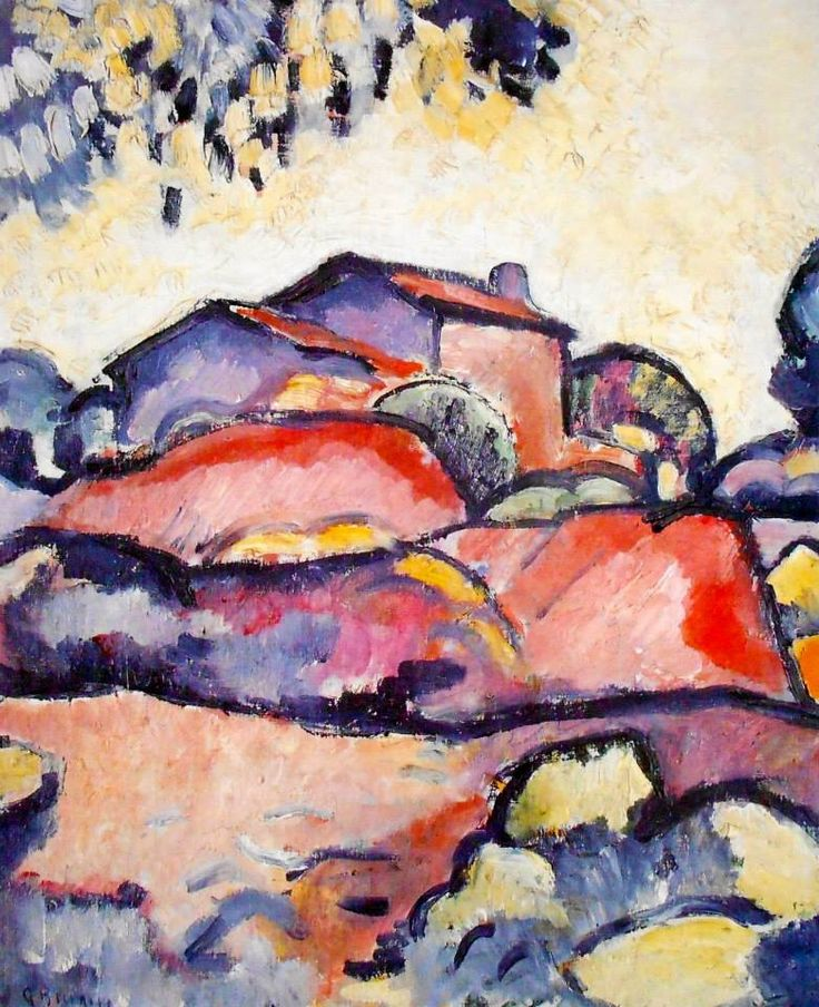Fauve Landscape by Georges Braque