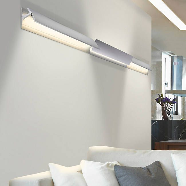 aileron led flat panel wall sconce
