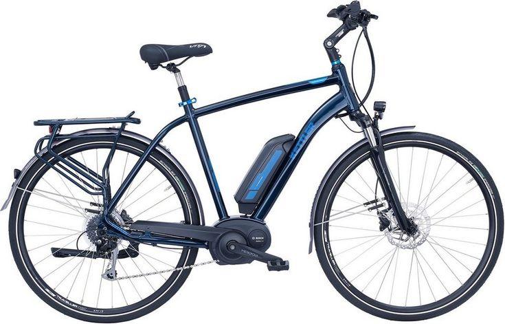 Kettler He Trekking E-Bike Mittelmotor 36V/250W 28 Zoll 8 G. Shimano Alivio, »Traveller E Comfort«