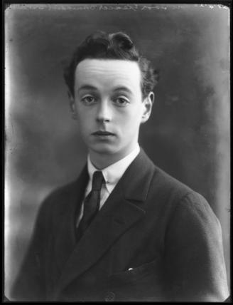 Lord Ivor Charles Spencer-Churchill (1898-1956); son of Consuelo Vanderbilt and the 9th Duke of Marlborough.