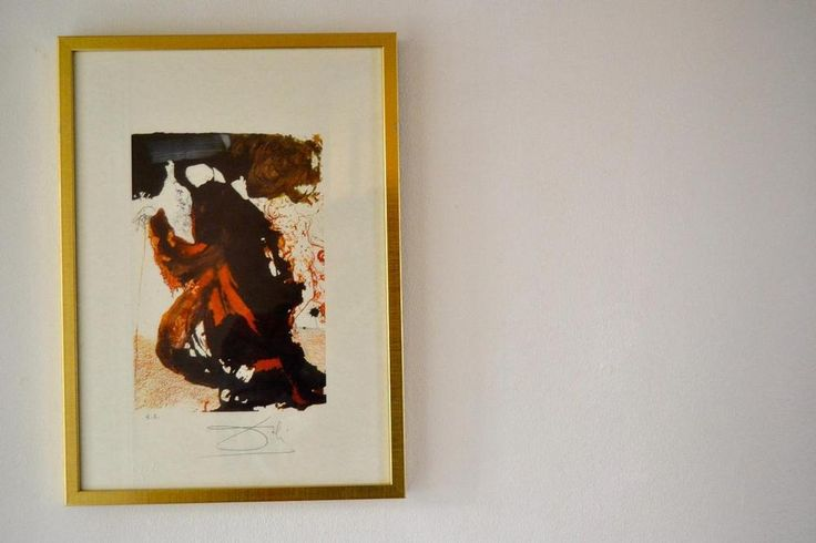 Salvador Dali hand signed original limited edition lithograph from Estrade 1969 #Abstract