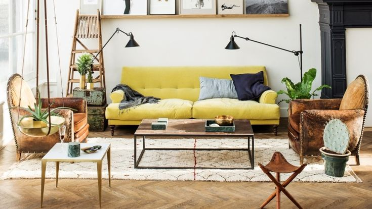 Antic&Chic. Decoración Vintage y Eco Chic: [Get the look] Un loft de estilo industrial y masculino