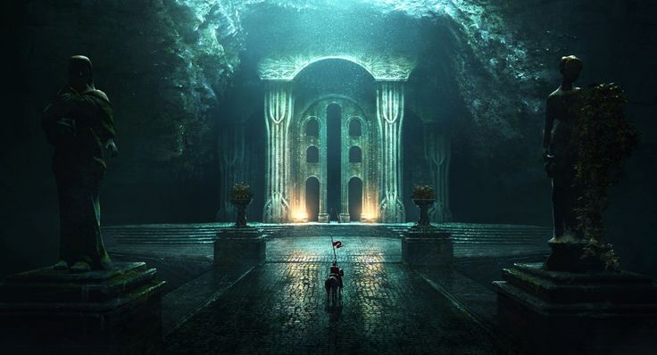 Menegroth, City of a Thousand Caves