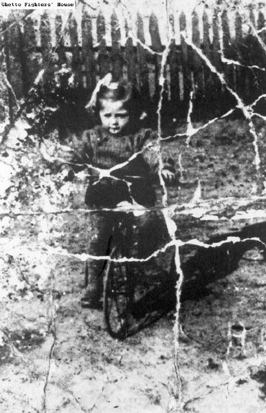 """""""Ruchla Zylberberg lived in the village of Zawichost. Her father fled to the USSR. In 1941 at the age of 8, she was deported with her mother and sister Esther to Auschwitz, where those two were killed. Ruchla remained in the children's barracks in the camp. In December 1944 she was sent, together with 19 other Jewish children ages 5 - 12, to the Neuengamme camp near Hamburg, where they were subjected to medical experimentaton, then on April 20, 1945, were taken to a school building and…"""