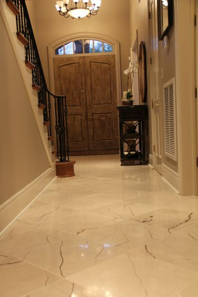 Foyer Marble Tile Designs : Artistic tile balkan beige live and let living spaces