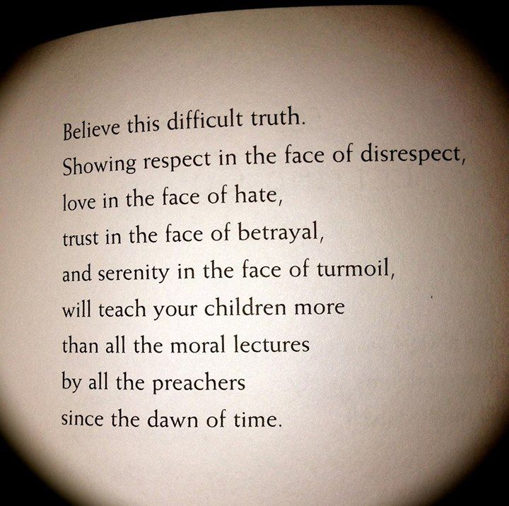 From the Parent's Tao Te Ching. Teach them passive resistance.