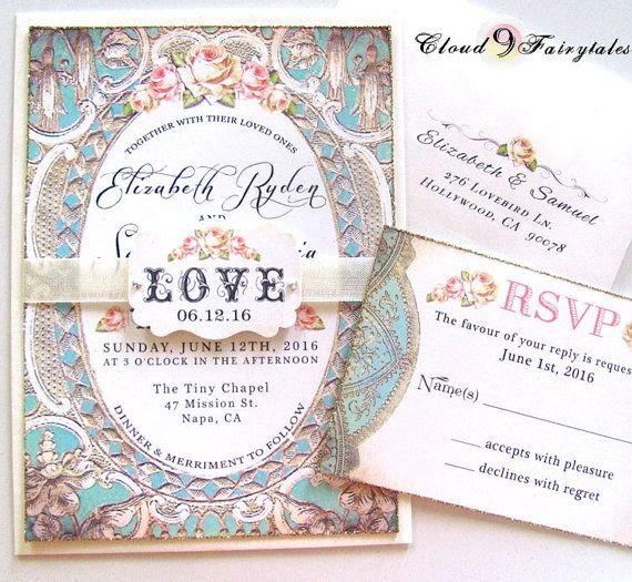 17 Best Ideas About Couture Wedding Invitations On