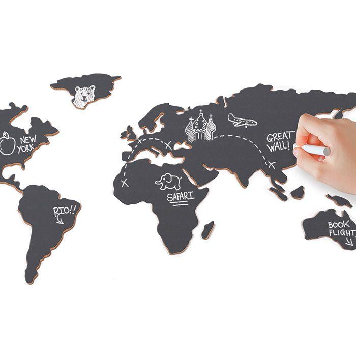 Chalkboard Map 21 best Scratch Maps u0026