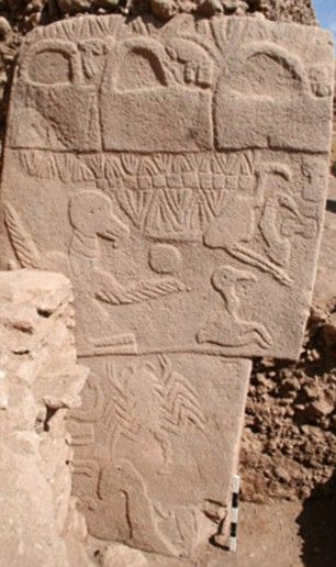 It was built around 7000BC, by comparison; Sumerian ziggurats were built C.4000BC and the pyramids of Giza in 2,500 BC. It is thus the oldest such site in the world, by a mind-numbing margin.GÖBEKLİ TEPE hails from a part of human history that is unimaginably distant..
