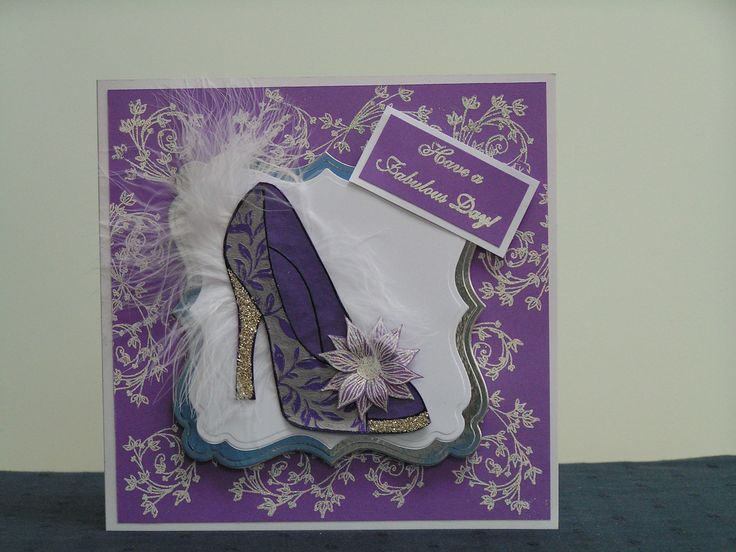 large shoe stamp by Chloe