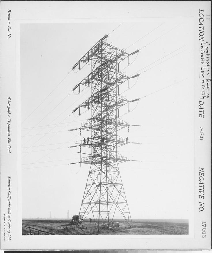 La Fresa Transmission Line G. Haven Bishop 1931