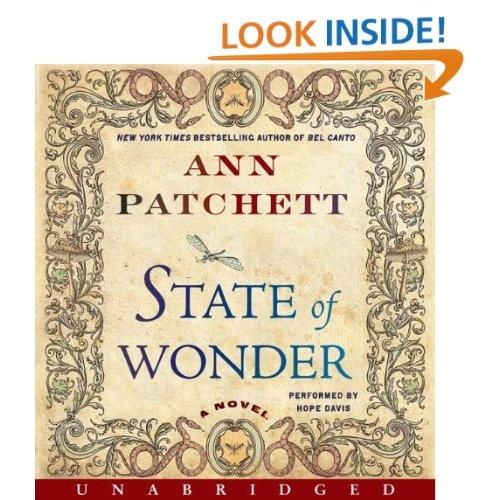 Amazon.com: State Of Wonder (9780062072474): Ann Patchett