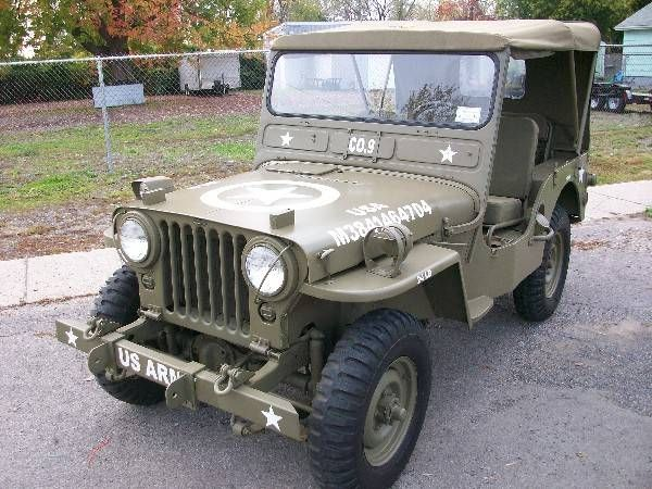 Classic Jeeps For Sale >> 1950 Willys M38 | Jeep M38 | Pinterest | Cars, Cars for sale and For sale